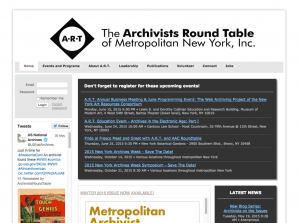 Archivists Round Table Usability Study